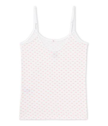 Camiseta de tirantes estampada para chica