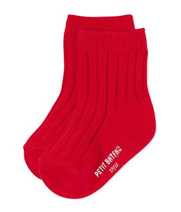 Calcetines bebé mixto rojo Froufrou