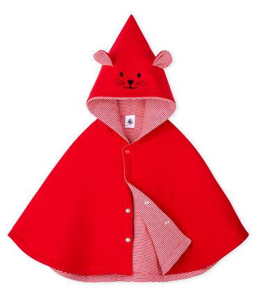 Capa para bebé unisex rojo Terkuit