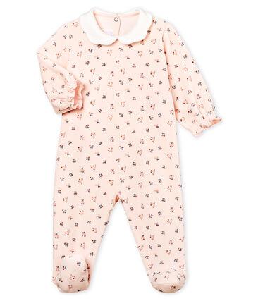 Pelele de terciopelo para bebé niña