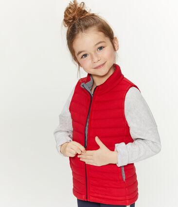 Chaleco infantil unisex rojo Terkuit