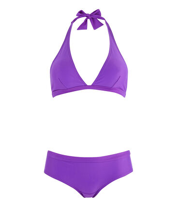 Biquini ecorresponsable mujer violeta Real