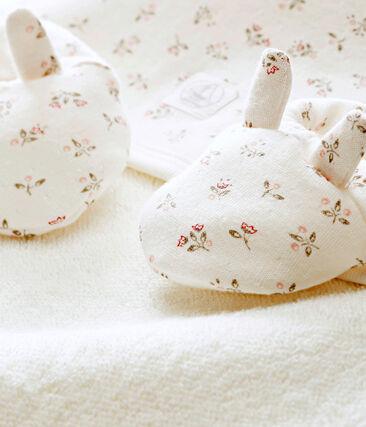 Cofre capa de baño + patucos para bebé mixto