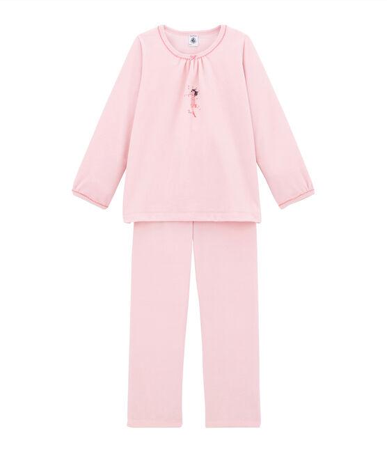 Pijama para niña rosa Joli