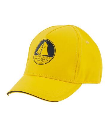 Gorra infantil unisex amarillo Jaune