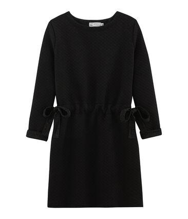 Vestido de mujer negro Noir / amarillo Dore