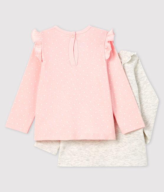 Juego de 2 blusas para bebé niña lote .