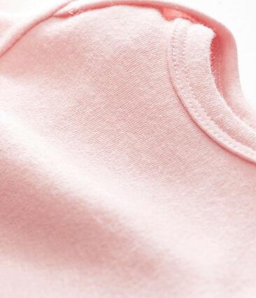 Body de manga larga para bebé niño rosa Joli