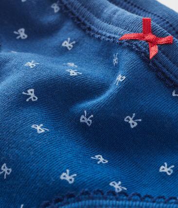 Braguita para niña azul Major / blanco Marshmallow