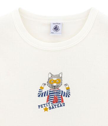 Camiseta de manga corta para niño