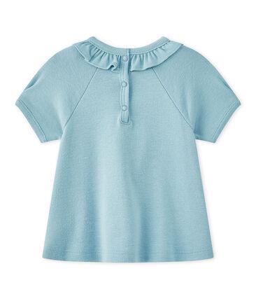 Camiseta bebé niña de maga corta