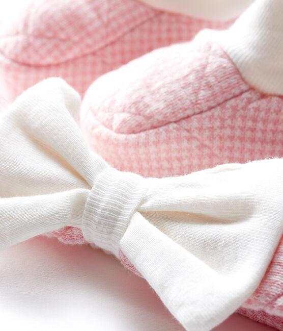 Lote de diadema y patucos para bebé niña de túbico acolchado lote .