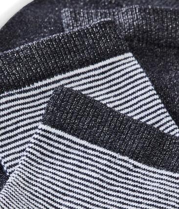 Lote de 2 pares de calcetines para mujer
