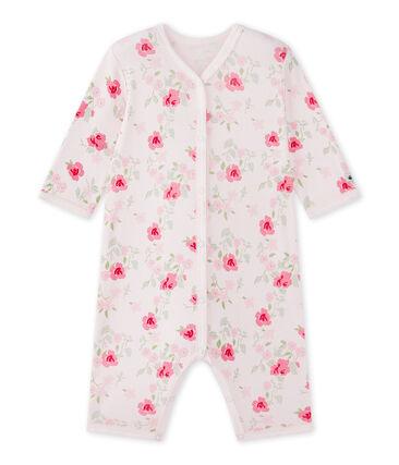 Pijama sin pies estampado para bebé niña