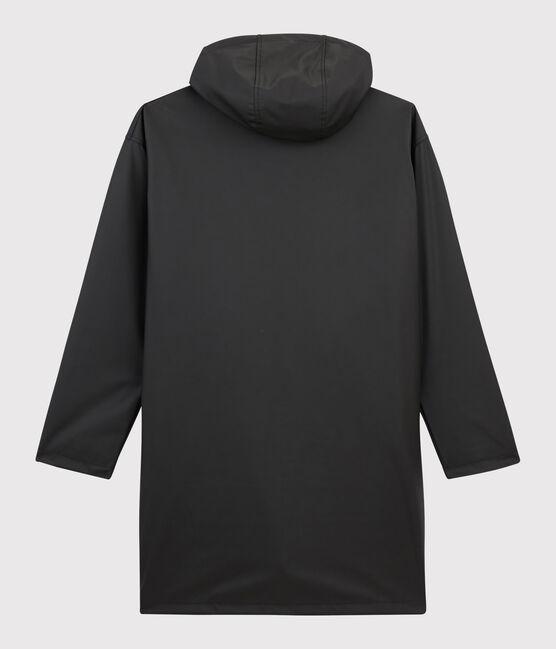 Impermeable largo unisex negro Noir