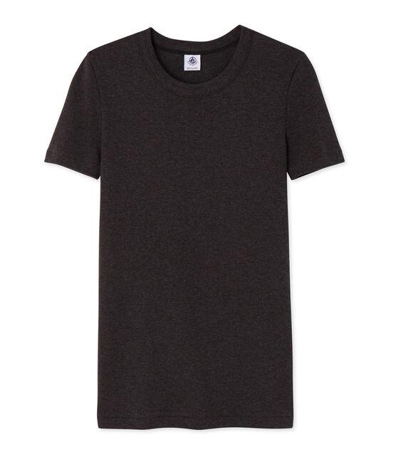 Camiseta de manga corta para mujer gris City Chine