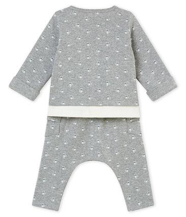 Conjunto de tres piezas estampado para bebé niño