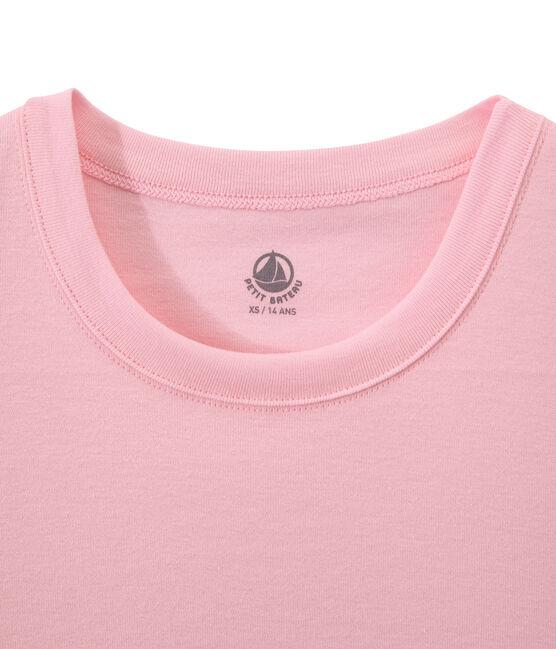 Camiseta de punto original para mujer rosa Babylone