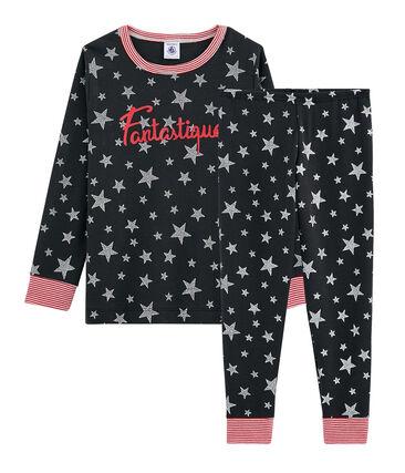 Pijama de punto para niño gris Capecod / gris Argent