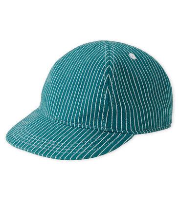 Gorra de rayas para bebé niño