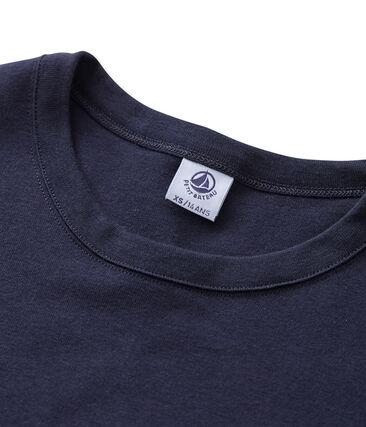 Camiseta de manga larga icónica de mujer azul Smoking