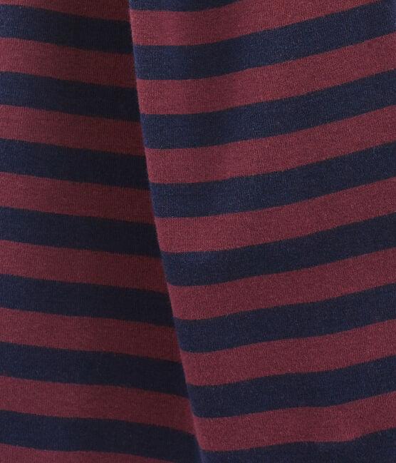 Bufanda a rayas para mujer azul Smoking / rojo Ogre