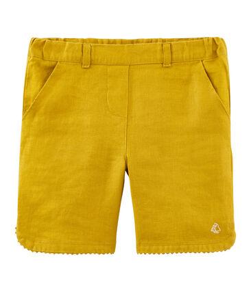 Shorts infantiles para niña