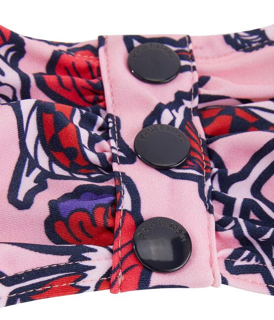Sujetador de biquini ecorresponsable para mujer rosa Patience / blanco Multico