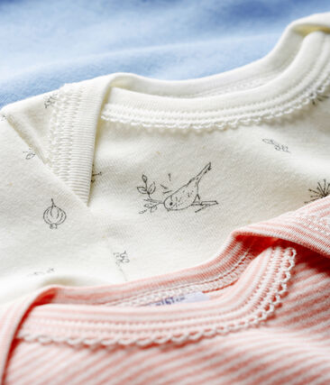 Tres bodis de manga larga para bebé niña