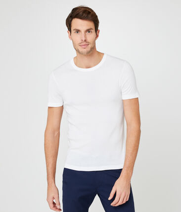 Camiseta para hombre blanco Ecume