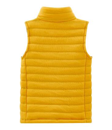 Chaleco infantil unisex amarillo Boudor