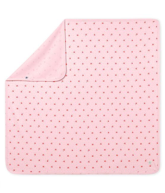 Muselina estampada para bebé unisex rosa Vienne / blanco Multico