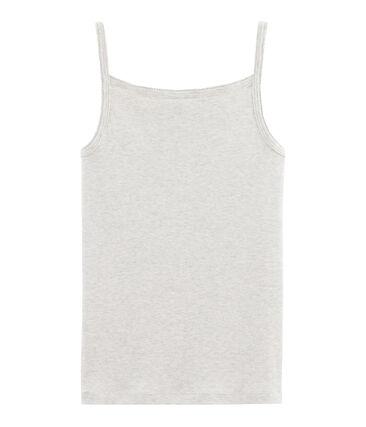 Camisa con tirantes de mujer gris Beluga