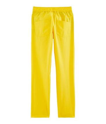 Pantalón de niño amarillo Gengibre