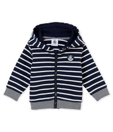 Sudadera a rayas marineras para bebé niño