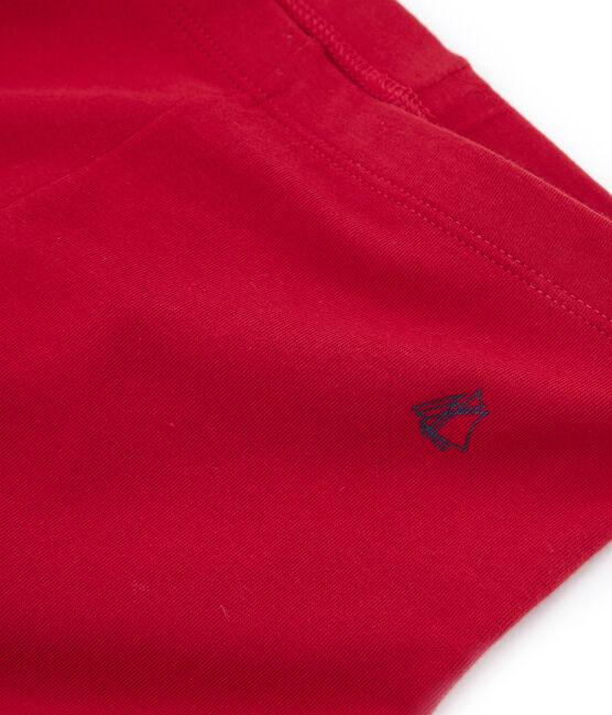 Leggings infantiles para niña rojo Terkuit
