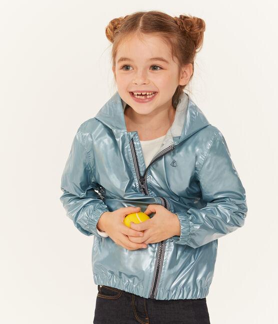 Cortavientos infantil unisex azul Crystal Brillant