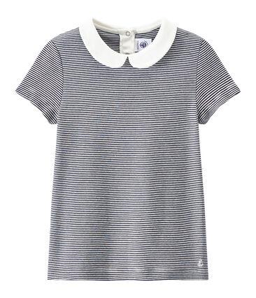 Camiseta para niña a rayas