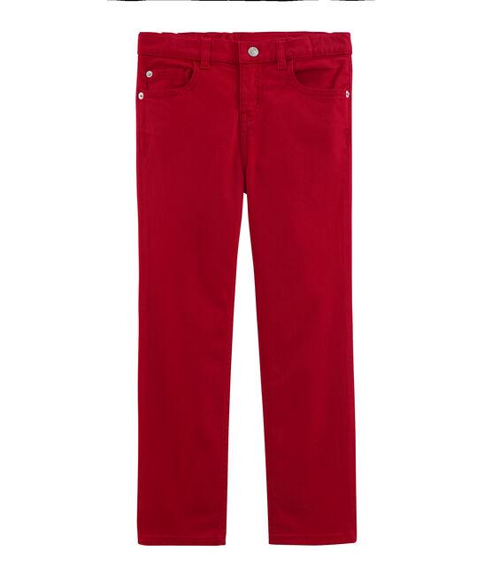 Pantalón de niño y joven rojo Terkuit