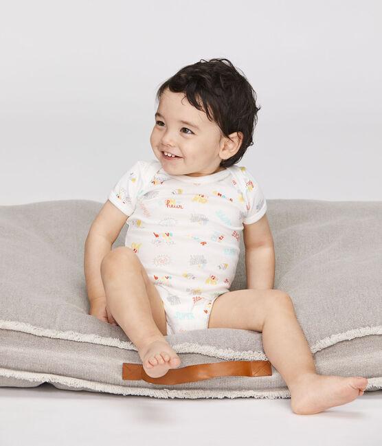 Juego de 5 bodis de manga corta para bebé de niño lote .
