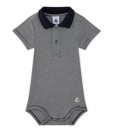Body bebé niño a rayas