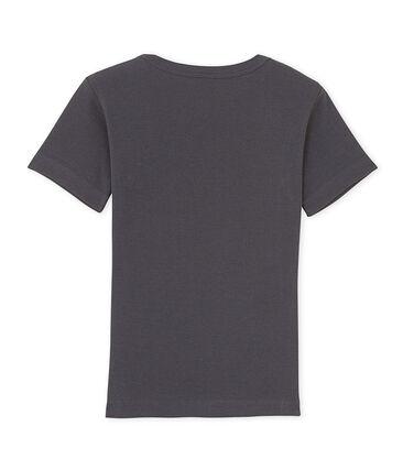Camiseta de niño con cuello en pico y un motivo estampado