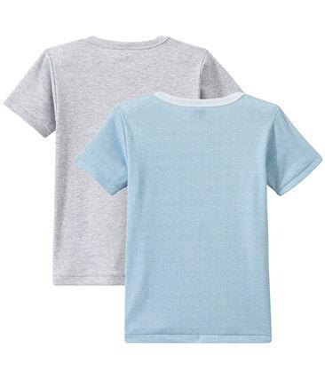Lote de 2 camisetas de manga corta para niño