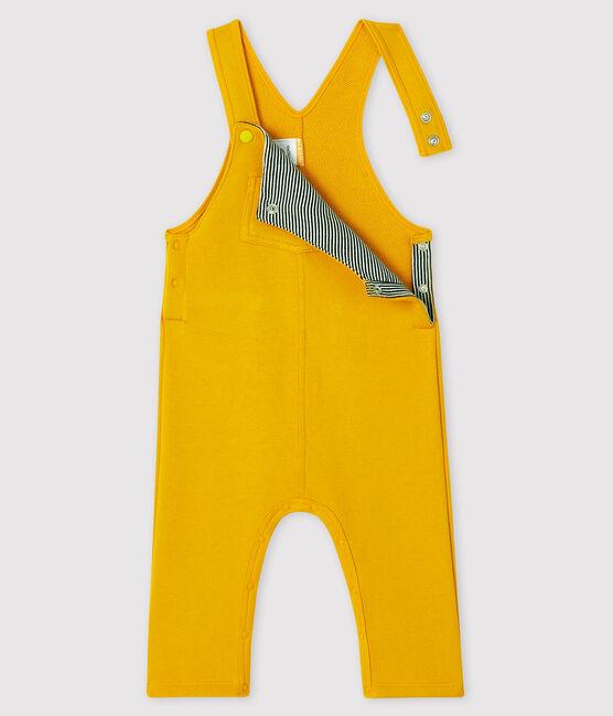 Peto largo para bebé niño amarillo Boudor