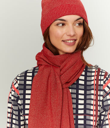 Gorro brillante de mujer rojo Terkuit / rojo Terkuit Brillant