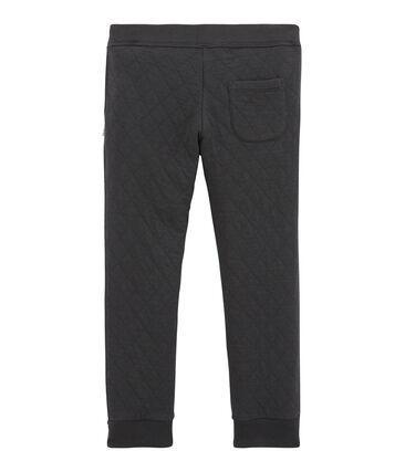 Pantalón para niño en túbico acolchado gris Capecod