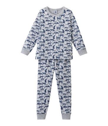 Pijama en túbico estampado para niño