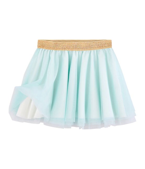 Falda de niña verde Piscine