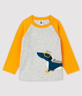 Camiseta para bebé niño BELUGA/BOUDOR