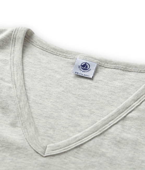 Camiseta icónica para mujer gris Beluga